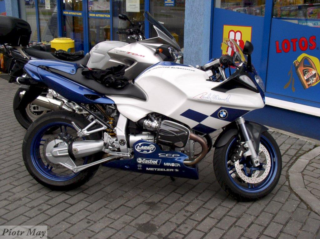 BMW R1100S. Replika kontra Yamaha TDM 900