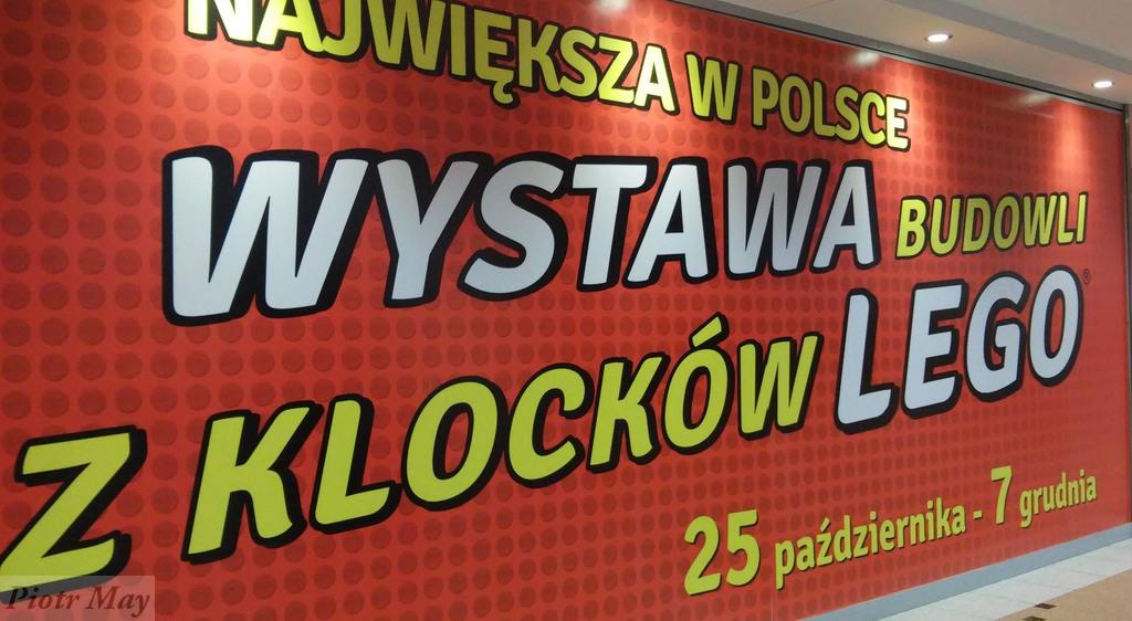 Klocki Lego w poznańskiej Pestce