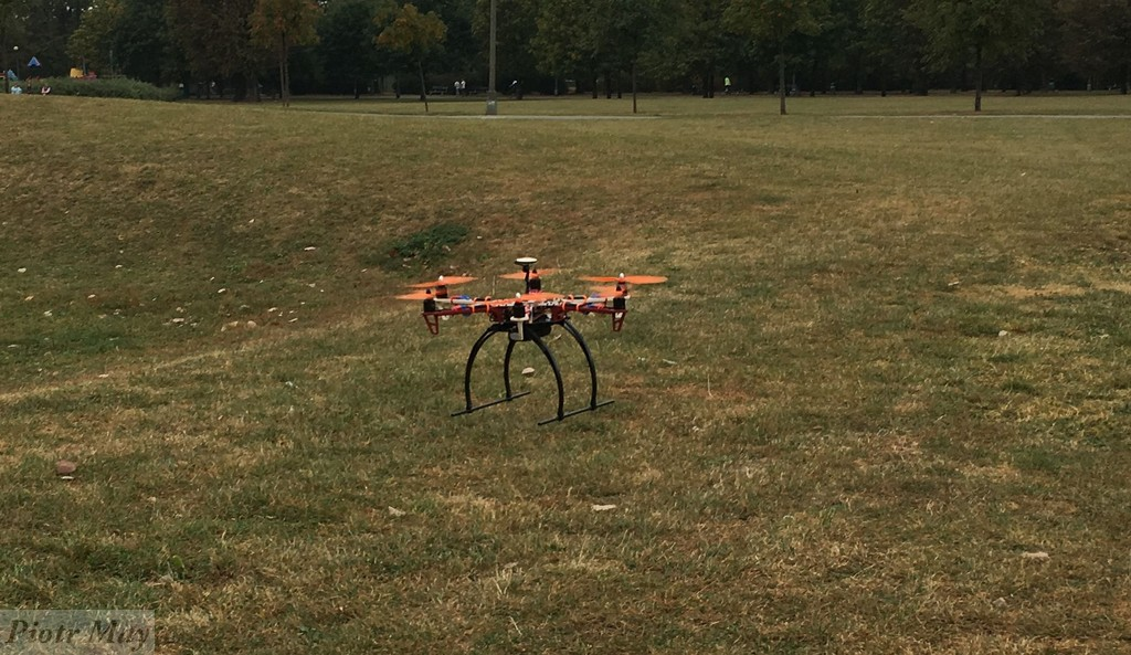 Historia dronem pisana