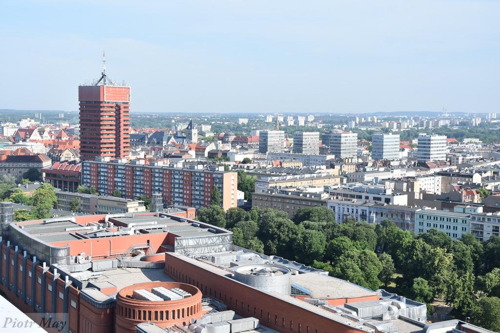 Poznań z wysokości