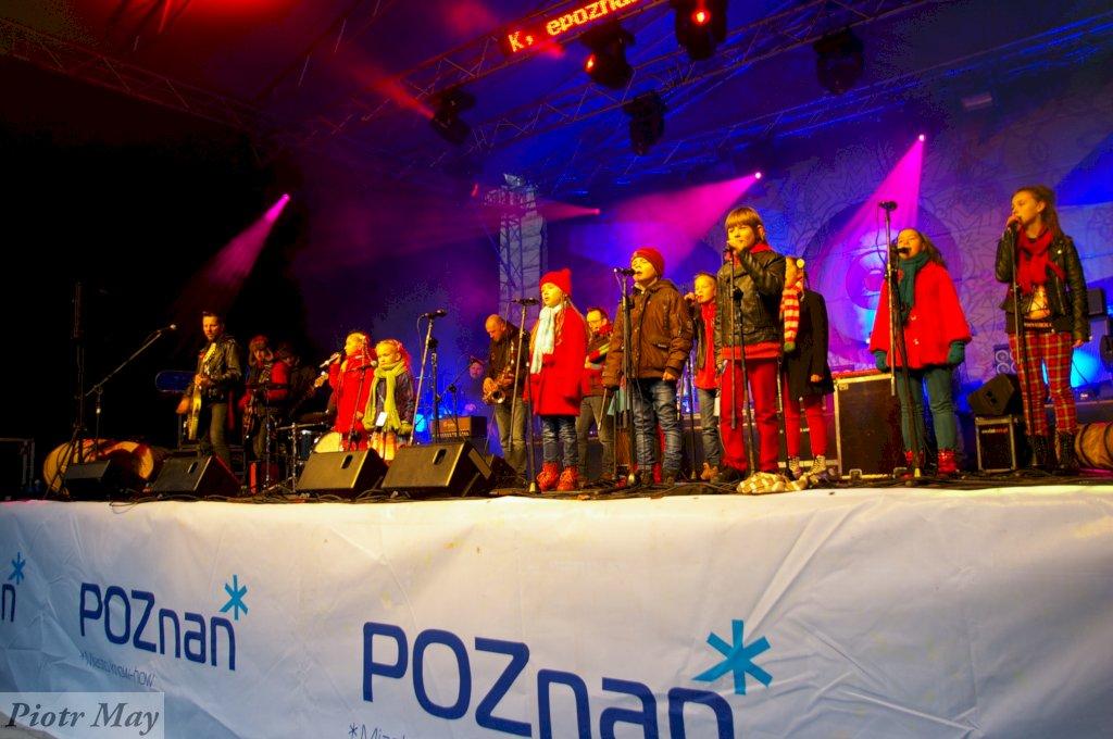 Arka Noego i Luxtorpeda na WOŚP w Poznaniu
