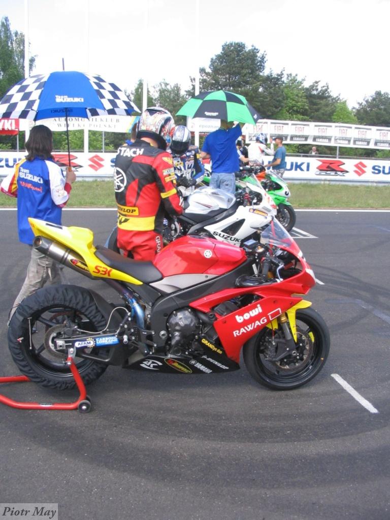 Piewsza runda Motocyklowych Mistrzostw Polski 2007