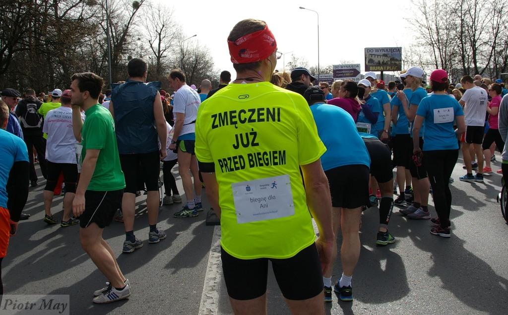 8 poznański półmaraton – od tyłu :)