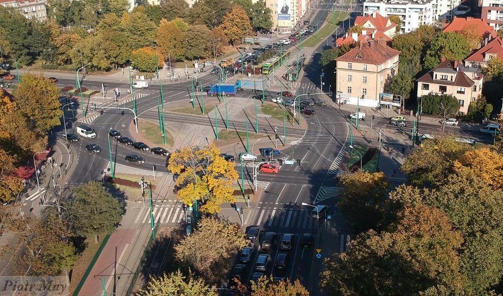 Rondo Nowaka-Jeziorańskiego z drona